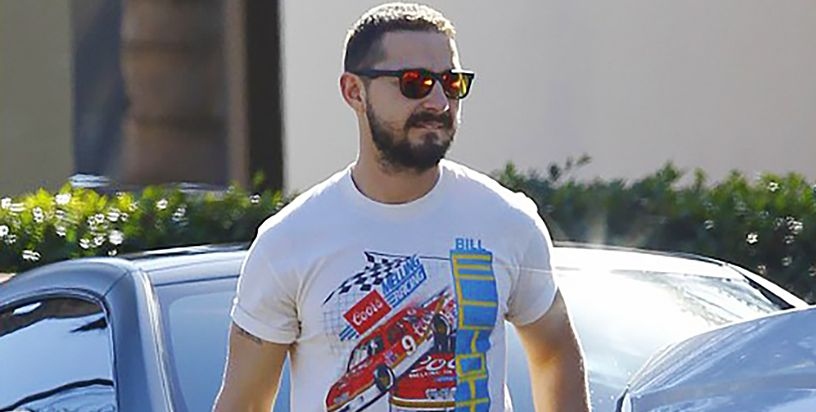 Nascar Vintage Racing Tees Are New Celebrity Style Flex