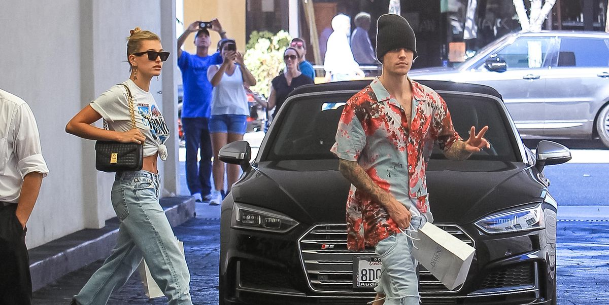 Justin Bieber Spotted Outside Beverly Hills Clinic in Drewhouse Shirt and Beanie