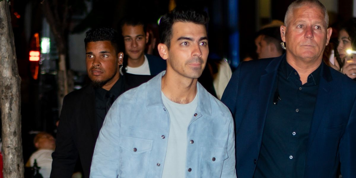 Joe Jonas Steps Out in White Jeans