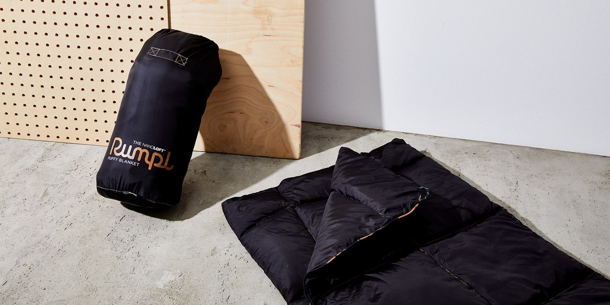 Rumpl's NanoLoft Puffy Blanket Is the Best Waterproof Camping Blanket