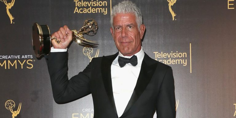 Anthony Bourdain's Tom Ford Emmys Tux Is Up for iGavel Auction