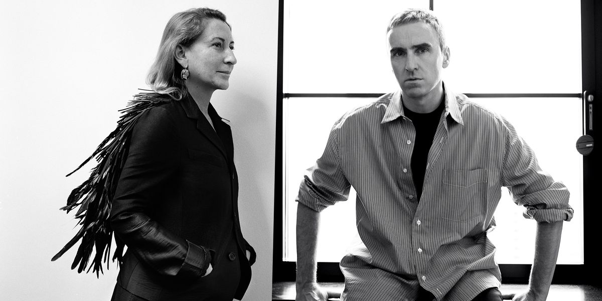 Raf Simons Is Joining Prada as Co-Creative Director with Miuccia Prada